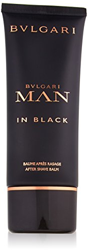 Bvlgari Man in Black Dopo Barba Balsamo, Uomo, 100 ml