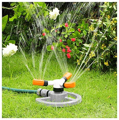 Irrigatore rotante con modalità di spruzzo Quantum Garden WL-Z16, con tubo di colore bianco