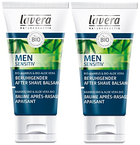 Lavera Men Sensitiv Balsamo dopobarba, 50 ml, 2 pezzi