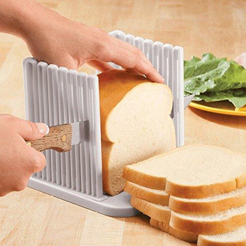 Taglia pane Porta pan carré plumcake toast Affettatrice Organizer