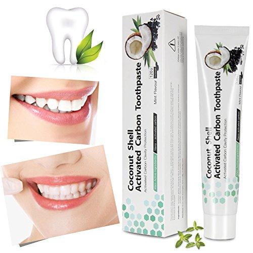 Dentifricio al carbone attivo per lo sbiancamento naturale dei denti, iSuri Minty Black