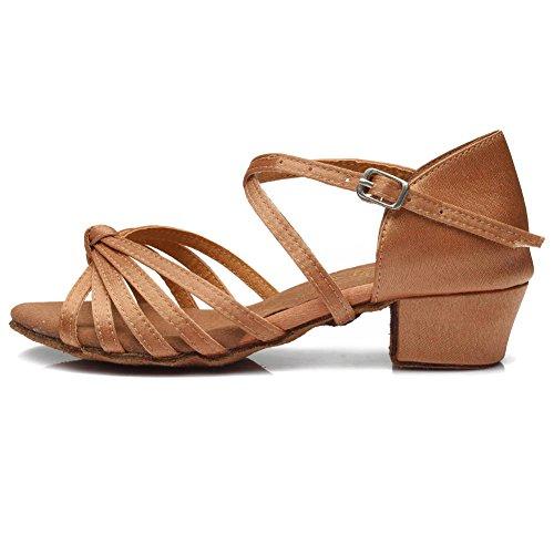Pantofi pentru femei și fete din satin latin / standard