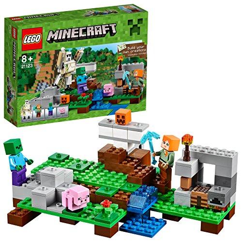 Lego Minecraft - Il Golem di Ferro