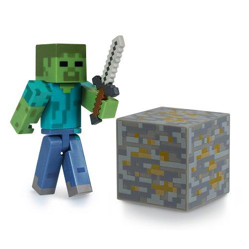 Minecraft Pupazzetto Zombie con Accessori