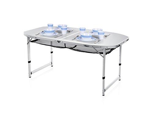 Tavolo da campeggio Pieghevole – Alluminio, Campart