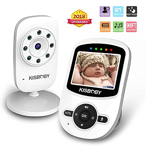 Video Baby Monitor Wireless Digital 2.4 TFT LCD Monitor