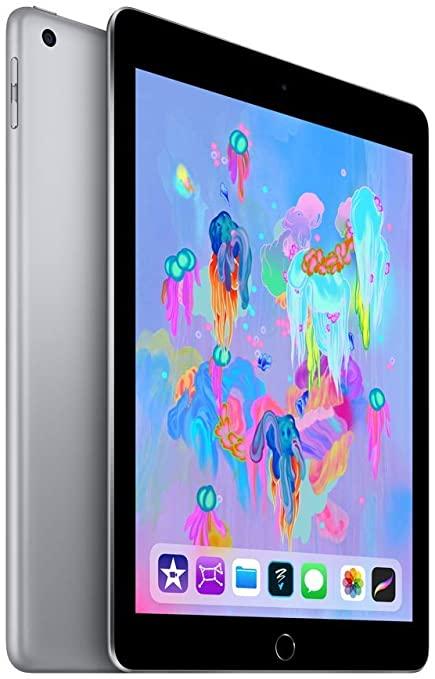 Apple iPad 9,7 (2018) 32GB 4G - Grigio Siderale - Sbloccato (Ricondizionato)