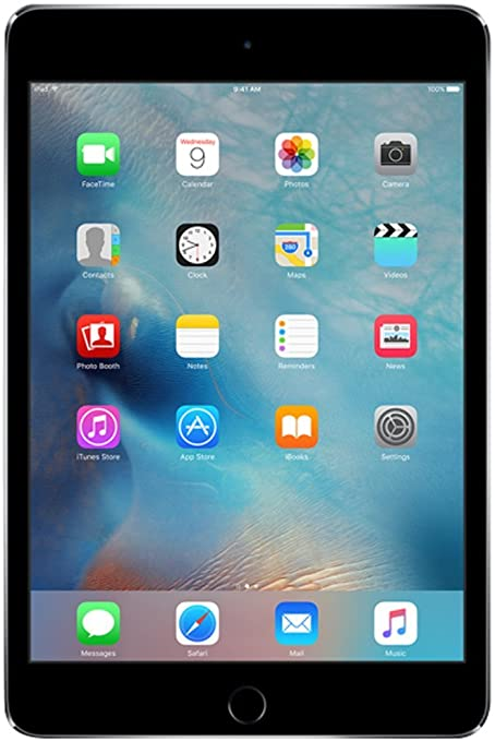 Apple iPad Mini 4 128GB 4G - Grigio Siderale - Sbloccato (Ricondizionato)