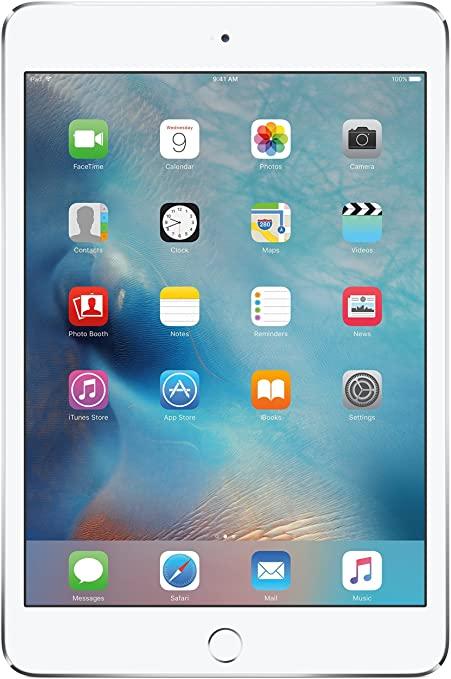 Apple iPad Mini 4 16GB Wi-Fi + Cellular - Argento - Sbloccato (Ricondizionato)
