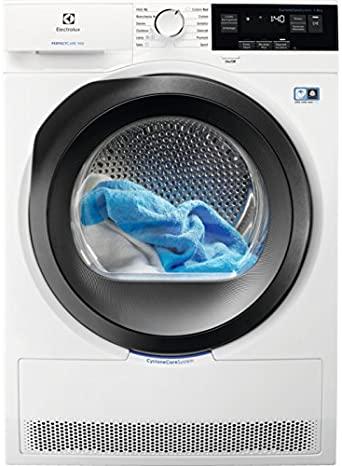 Electrolux EW9HE83S3 Libera installazione Carica frontale 8kg A+++ Bianco asciugatrice